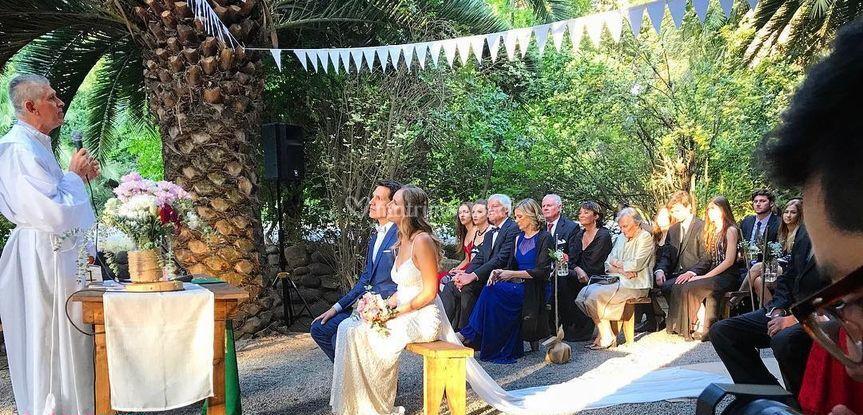 Matrimonio Casa Parque Nos