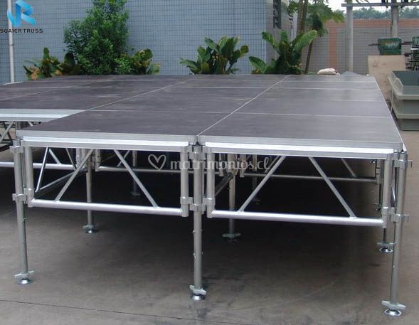 Escenario modular aluminio
