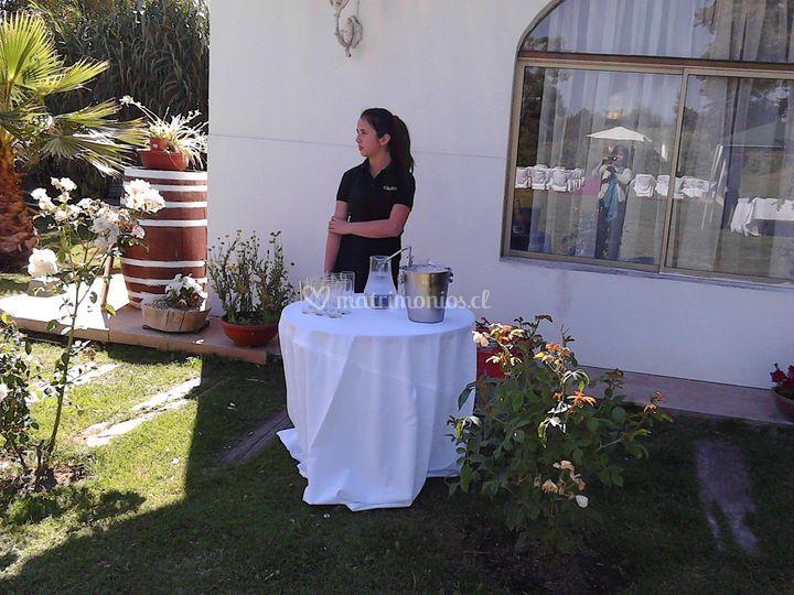 Esperando invitados