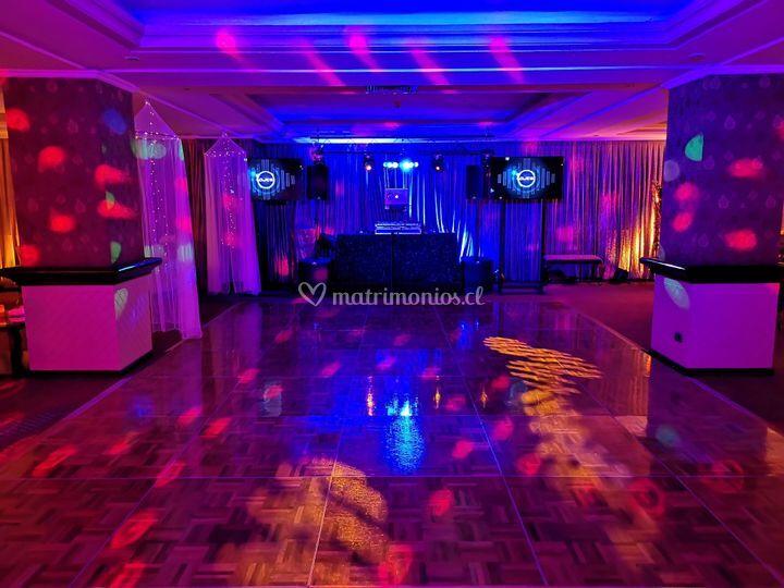 Bristol, iluminación baile