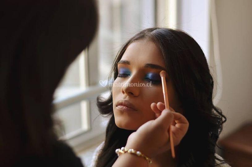 Maquilladora en Santiago