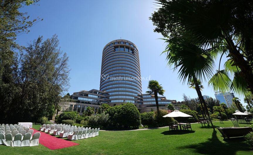 Ceremonia y hotel