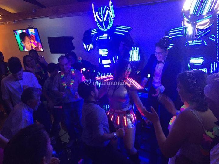 Lubamax robot led