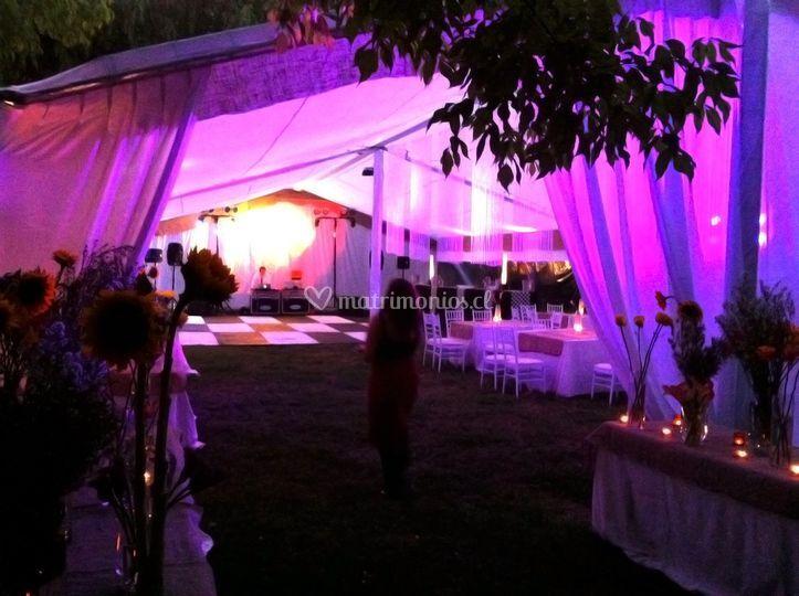 Toreto producciones - Iluminacion decorativa exterior ...