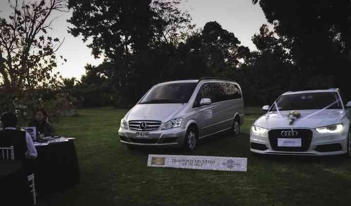Audi A6 y Mercedez Benz Viano