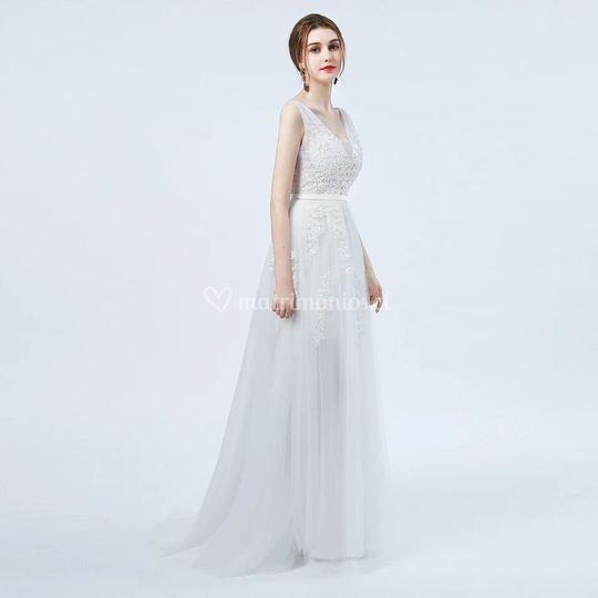 Vestido de novia Perla