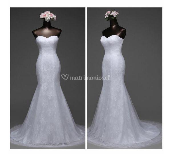 Vestido de novia Ariel