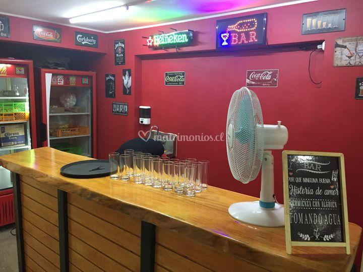 Sección bar