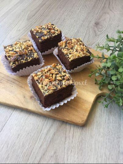 Mini brownie sin trigo