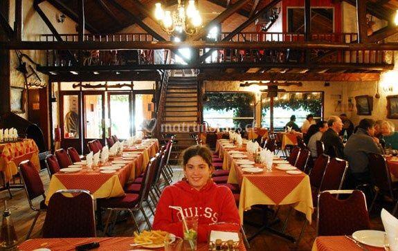 Mesas en el restaurant