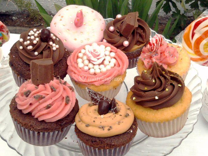 Cupcakes para el matrimonio