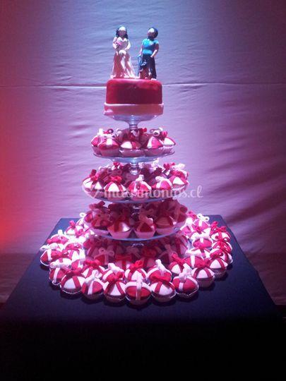 Torta de cupcake