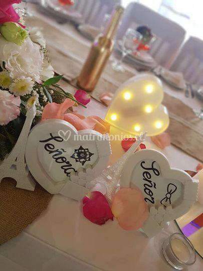 Botellas doradas solo amor