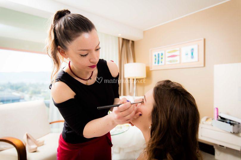 Francisca Araya Feliu Makeup