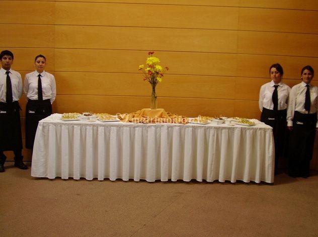 Esperando a los invitados