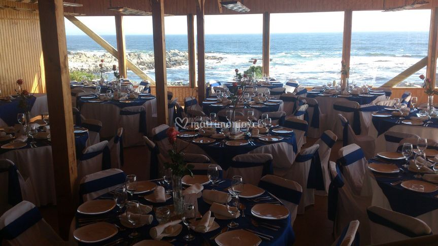 Matrimonio frente al mar