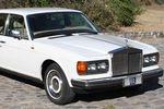 Carro blanco de Autos Antiguos