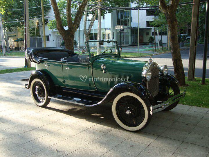 Ford A 1929 sin capota