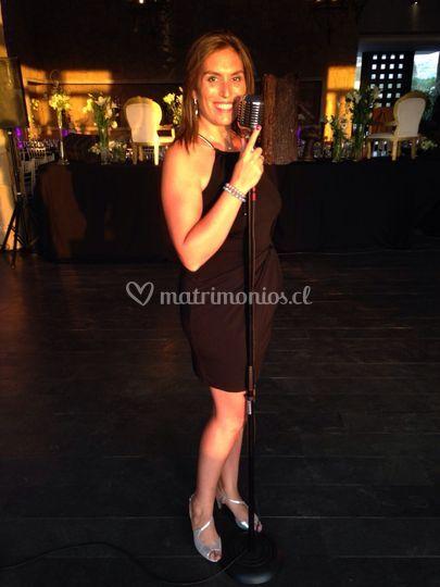La cantante