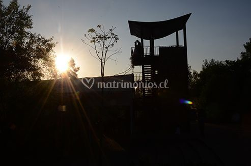 Contraluz, parque mahuida