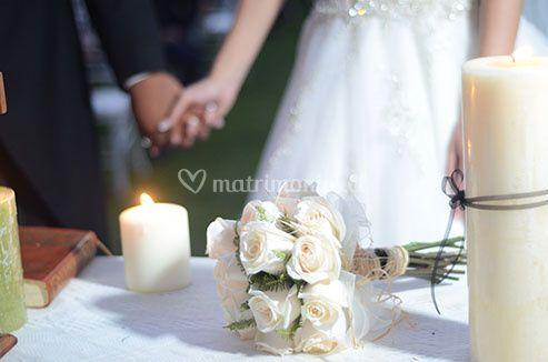 Foto simbólica matrimonio civi