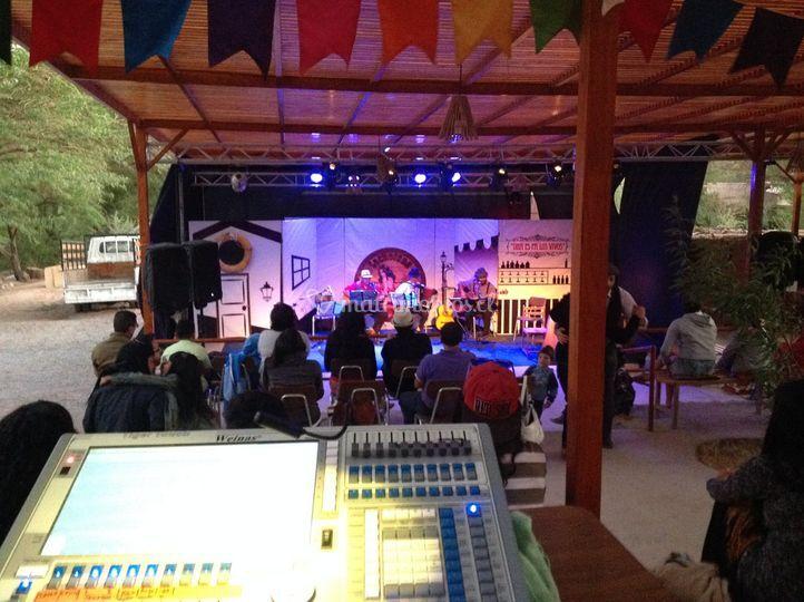 Iluminación de escenario