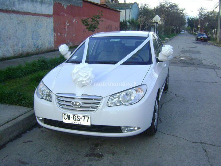 Auto para matrimonio en Santiago