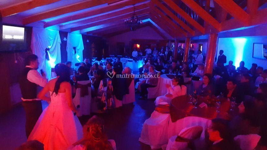 Sonido e iluminación boda