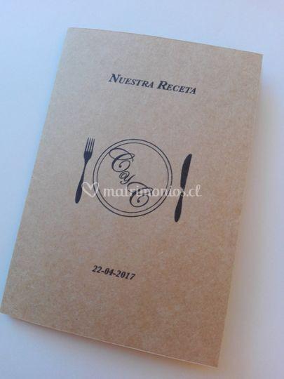 Parte kraft [menú pasaporte]