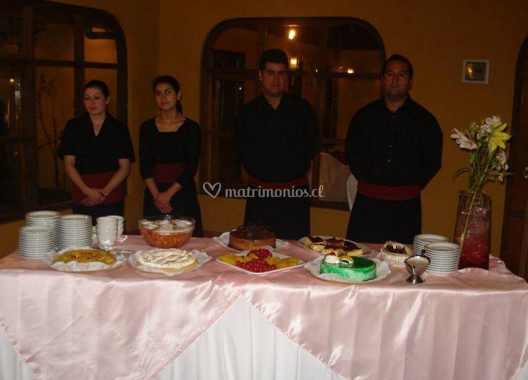 Servicio de banquete
