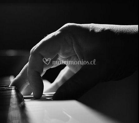 Tocando el piano