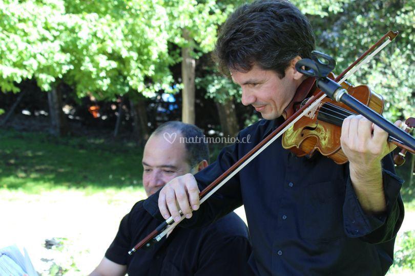 Dúo piano violín