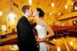 Beso de bodas
