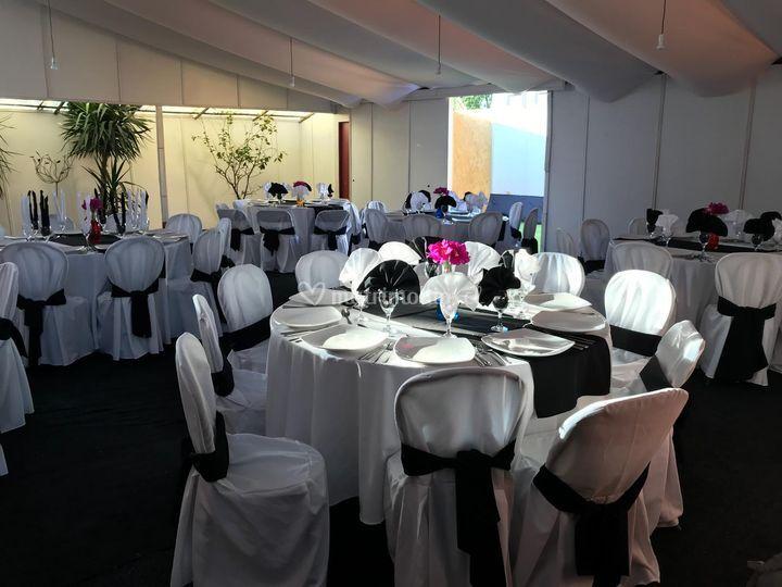 Sector salón cena