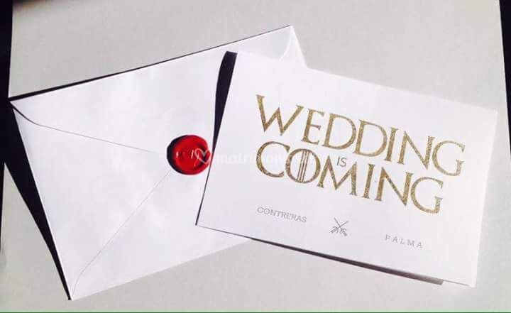 Parte the wedding is coming