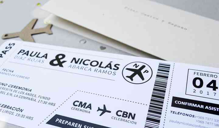 Tipo boarding pass