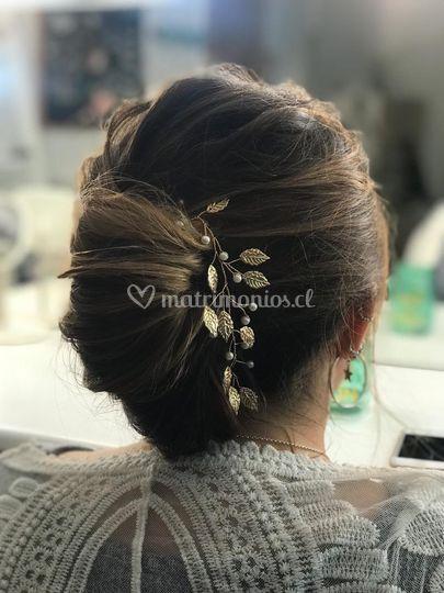 Peinado de madrina