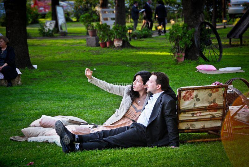 Selfie y naturaleza