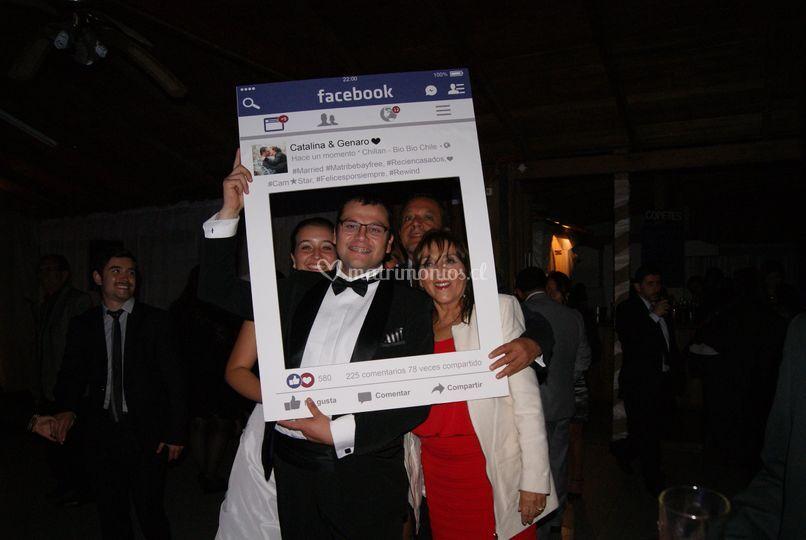Cuadro Facebook