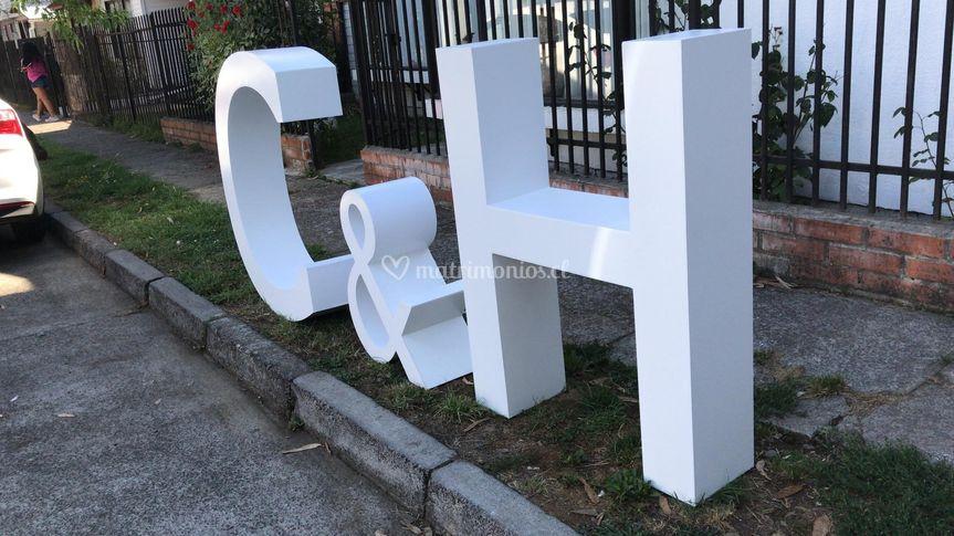 Pack letras gigantes 3D