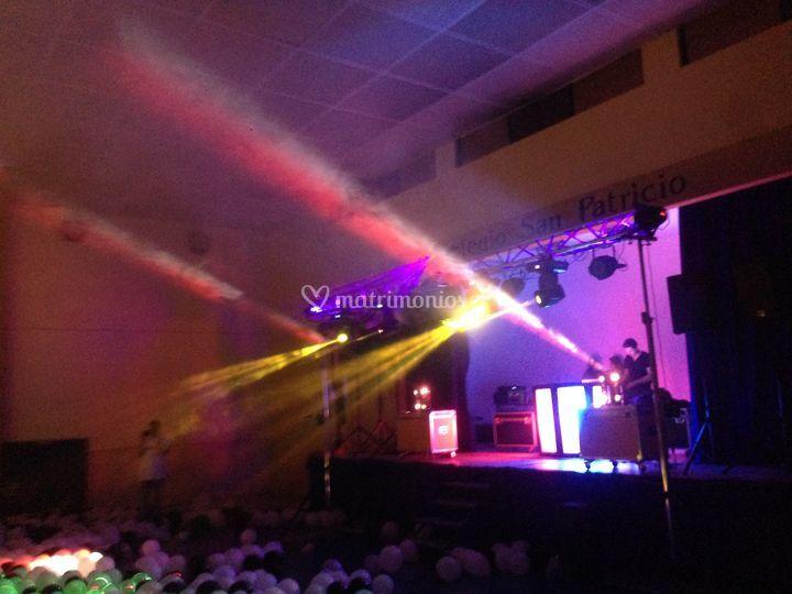 Iluminación y amplificación
