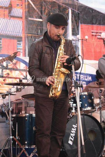 Saxofonista en Puerto Montt