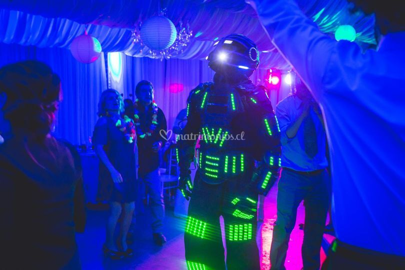 Robot LED fiesta