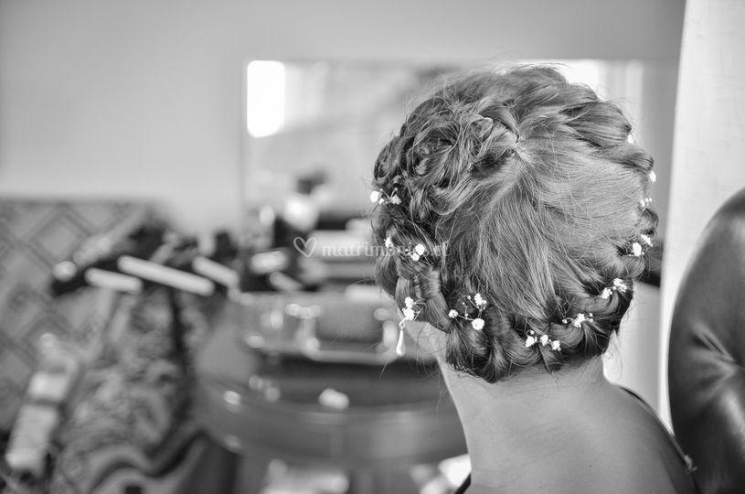 Sesión de peinado