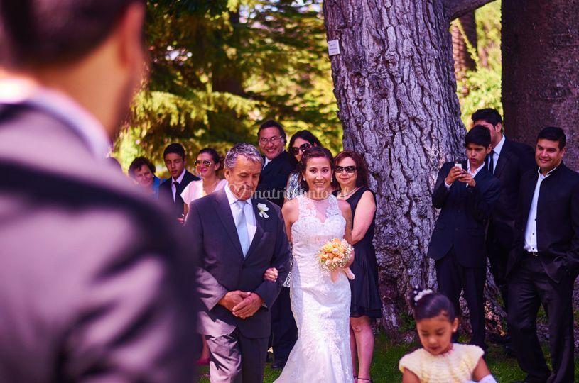 Fotografía de boda.