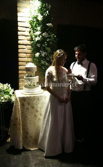 Novios & torta