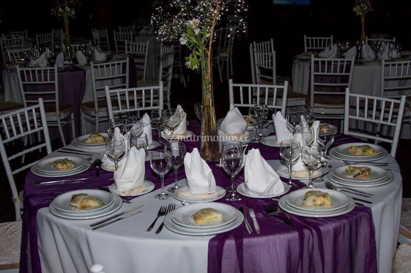 Montaje violeta