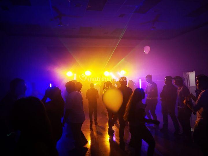 Iluminación de fiesta