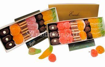 Chocolates para matrimonio