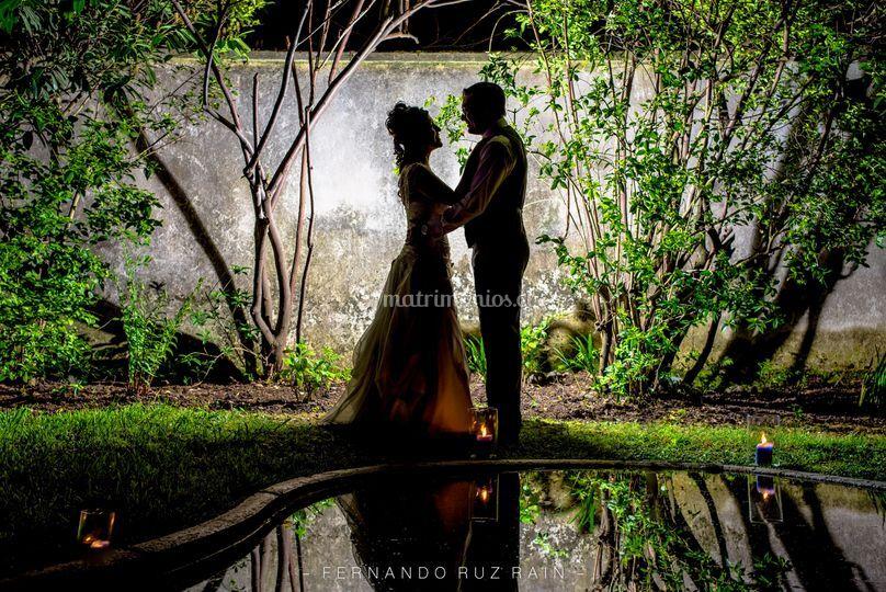 Fotografía final de la boda